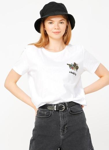 Fabrika Copenhagen Fabrika Copenhagen Beyaz T-Shirt Beyaz
